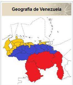Distrito, Estados, Territorios, Dependencias Federales y Mar Territorial de Venezuela