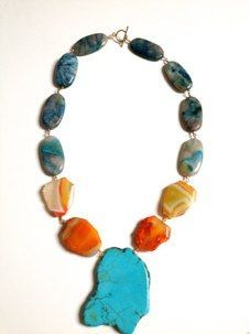 Necklace - looks like the earth