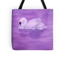 Tote Bag,  purple,violet,mauve,cool,beautiful,fancy,unique,trendy,artistic,awesome,fahionable,unusual,accessories,for,sale,design,items,products,gifts,presents,ideas,swan,lake,nature,water