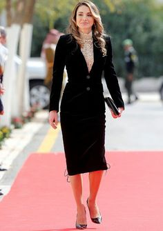 On November 7, 2016, Queen Rania of Jordan attended the opening ceremony of the first ordinary session of 18th Parliament in Amman, Jordan. The King addressed the recently elected 18th Jordanian Lower House of Parliament with the appointed Higher House of the Senate with the attendence of royal family members and government.