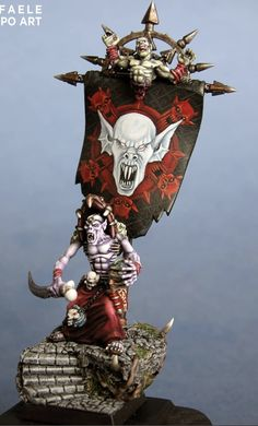 Warhammer Vampire Counts, Fantasy Miniatures, Warhammer 40k, Samurai, Art, Miniatures, Craft Art, Kunst, Samurai Warrior