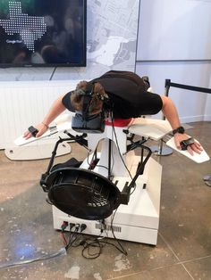 Birdly is a full-body simulator developed by the Institute for Design Research at the Zürich University of the Arts that attempts to recreate the flight of the red kite, a large bird of prey, by ut...