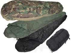Military Surplus MSS -30 Degree 4-Piece Sleeping Bag System