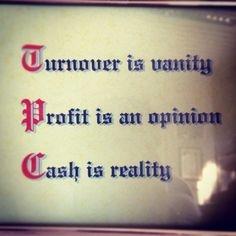 Cash is reality