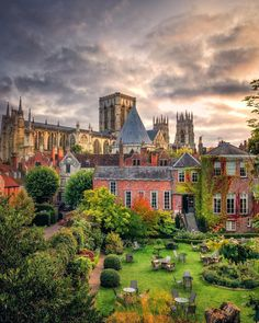 """Fayaz Mohamed on Instagram: """"Favourite view from the medieval city walls York"""" York Uk, York Minster, British Isles, Wonders Of The World, Yorkshire, The Good Place, Medieval, England, Mansions"""