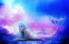 The little mermaid by CreamymagiqueDigital.deviantart.com on @deviantART