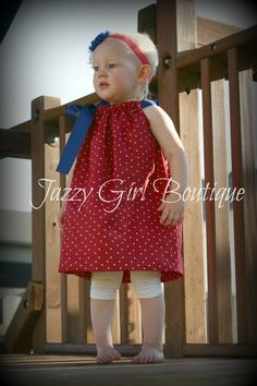 Fourth of July Dress!  $18. That's my beautiful baby girl!