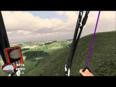 ParaFly simulator is a full featured paragliding and hang gliding simulator