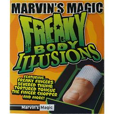 Freaky Body Parts Finger! by Marvin's Magic Magic Illusions, Magic Sets, Magic Props, Magic Book, Body Parts, The Magicians, Have Fun, Jokes, The Incredibles
