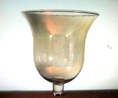 High Quality Home Interiors Peg Votive Candle Holder Milano Gold Bell Iridescent OOS