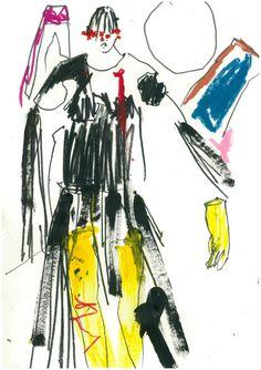New Fashion Portfolio Layout Creativity Central Saint Martins Ideas Fashion Illustration Sketches, Fashion Sketchbook, Fashion Design Sketches, Textiles Sketchbook, Fashion Art, Editorial Fashion, New Fashion, Trendy Fashion, Fashion Quotes