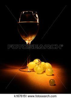 soir, vin, nature morte Voir Image Grand Format