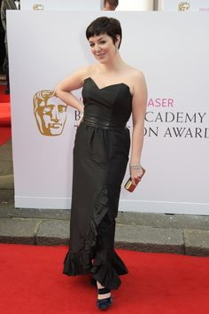 Pin for Later: See All the Stars Arriving at the 2015 BAFTA Television Awards Sheridan Smith
