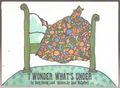 Vintage-Childrens-Book-I-WONDER-WHATS-UNDER-Doris-Herold-Lund
