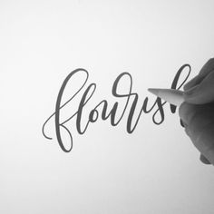 Another #ipadlettering #calligraphyvideo  - This is a brush I customized in the #procreate app to mimic my favorite calligraphy brush pen - and it's pretty close! (Tools: Apple iPad Pro, Apple pencil, Procreate app). Interested in learning this modern style of lettering? Check out our No Fuss Calligraphy starter kit or sign up for a local class at printablewisdomco.com!