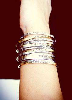 Inspiration Bracelets ★
