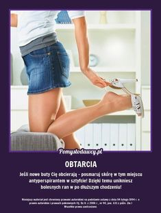 PROSTY TRIK NA OBTARTE STOPY OD NOWYCH BUTÓW! Simple Life Hacks, Good Advice, Good To Know, Cleaning Hacks, Life Lessons, Health And Beauty, Keep It Cleaner, Beauty Hacks, Hair Beauty