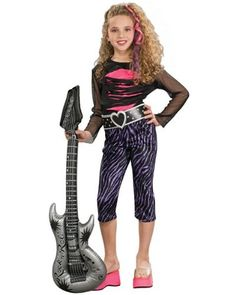 Girls 80s Rock Star Costume « Delay Gifts