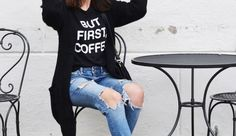OUTFIT | BUT FIRST COFFEE