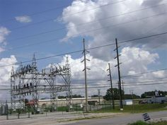 Clouds and the power transformer in Meade County, KY