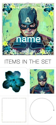 """captain america -- open"" by madfashionaddict ❤ liked on Polyvore featuring art and iconsbymadi26"