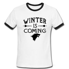 Fashion Game Of Thrones Men T Shirts Short Sleeve O Neck Casual Winter is Coming Stark Wolf Male t-shirt Pattern  //Price: $US $11.99 & FREE Shipping //     #gameofthronesmarathon #gameofthronestour #jonsnow #starks #sansastark #gameofthronesaddict