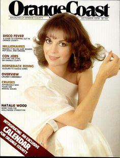 Natalie Wood on the cover of Orange Coast Magazine