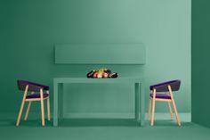 Minimalist Furniture Duo Enhancing Modern Spaces: Oslo Chair