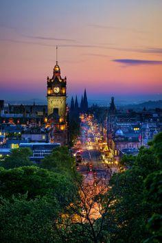 Princes Street, Edinburgh, Scotland