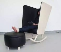 Antisocial Seating: 14 Distraction-Cutting Privacy Chairs