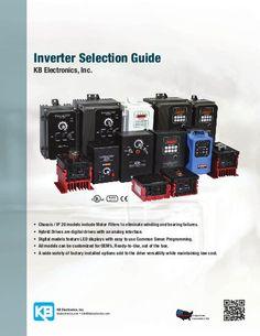AC Drive Selection Guide by KB Electronics, Inc., via Slideshare
