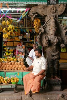 Selling in the Temple, Madurai Tamil Nadu India