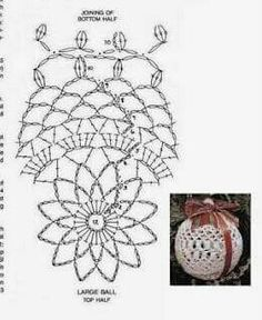 Best 11 Boże Narodzenie – Page 522558363010180738 – SkillOfKing.Com - Her Crochet Crochet Christmas Decorations, Crochet Decoration, Crochet Ornaments, Christmas Crochet Patterns, Beaded Christmas Ornaments, Holiday Crochet, Crochet Snowflakes, Christmas Cross, Crochet Ball