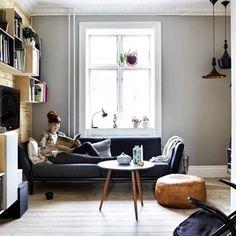 V tomto nádherném dánském bytě bydlí interiérová designérka Krista Rosenkilde, její manžel, hudebník Jeppe Davidsen a jejich dcera Ellis a vzhledem...