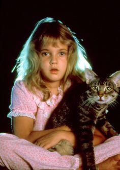 Drew Barrymore en la película 'Los ojos del gato' (Cat's Eye) (1985) - http://www.canalrgz.com/gente/ficha/1890/drew-barrymore