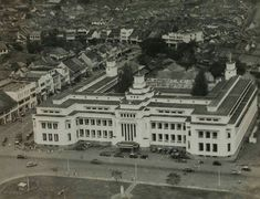 Air photo of the NHM building at Djakarta's Kota area 1950-1960