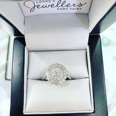Oval and oval and oval. Oval Diamond, Diamond Rings, Jewelry Stores, Halo, Custom Design, Diamonds, Gems, Wedding Rings, Engagement Rings