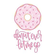 I drew a thing. Be proud of me.  Happy Love Day, dears! // Drawn in @procreateapp using Ipadpro + Apple Pencil // Go show @queeniescards some love for more adorable food puns  . . . . . . #ipadlettering #ipadpro #procreate #applepencil #etsyfinds #love #loveyou #donut #donuteverletmego #doughnuts #doughnut #vday #valentines #valentinesday #loveday #livethelittlethings #typography #practice #pink #quoteoftheday #quotestoliveby #loveofmylife #lovequotes #punny #foodpuns #ilovedonuts #i...
