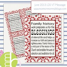 June 2013 Visiting Teaching Message | Mormon Mommy Blogs