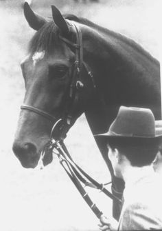 Another amazing photo of the legend Nijinsky. He wouldn't have known it then, but his kids and grandkids have been worth billions :)