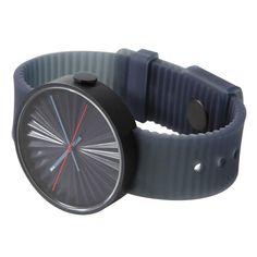 Plicate watch by Benjamin Hubert for Nava. Available at Dezeen Watch Store: www.dezeenwatchstore.com #watches