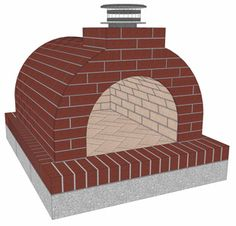 Mattone Barile Grande DIY Wood Fired Brick Pizza Oven by BrickWood Ovens