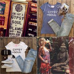 GYPSY SOUL TSHIRT €39,95 www.gypsetstyle.com