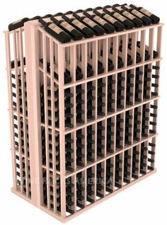 "Wooden 280 Bottle Double Reveal Aisle Wine Cellar Rack Storage Kit in Redwood with White Wash Stain + Satin Finish by Wine Racks America®. $872.60. Standard 3 3/4"" bottle cubicles: Fits most of the 750 ml bottles on the market. This includes the Oregon Pinot bottles, some Champagnes, and most of the uniquely shaped boutique vineyard bottles.. Choose From either Pine, Redwood, or Mahogany along with optional Industry Leading Quality Eco-Friendly Stains Paired wit..."
