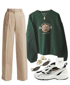 Teen Fashion Outfits, Mode Outfits, Cute Casual Outfits, Look Fashion, Stylish Outfits, Korean Fashion, Girl Outfits, Fashion Women, Dress Fashion
