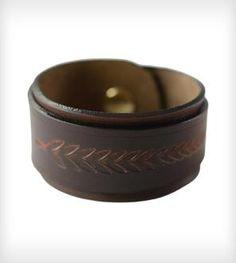 Ivy Leather Wrap Bracelet