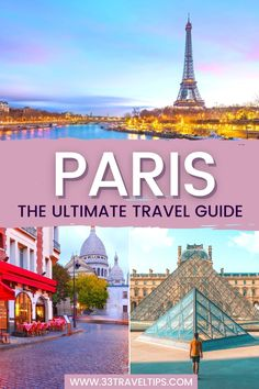 Paris The Ultimate Travel Guide. Are you traveling to Paris and love exploring vibrant cities with spectacular art museums and historical monuments as an independent traveler? From the best way to connect with locals to the coolest way to cruise the city's attractions, and from the money-saving tips to the best neighborhoods to stay in, here is our tried-and-tested advice. Check out this guide with 44 Paris travel tips will help you enjoy the City of Lights to the fullest. #paris #europe…