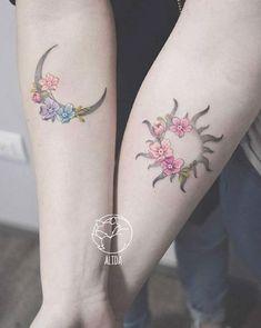 Bff Tattoos, Bestie Tattoo, Body Art Tattoos, Small Tattoos, Tattos, Wrist Tattoos, Form Tattoo, Shape Tattoo, Pretty Tattoos