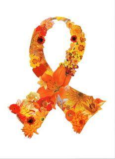 multiple sclerosis tattoos | Multiple Sclerosis Orange Ribbon Tattoo Design ... | Tattoo {Ideas}