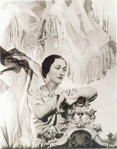 La photographie par Cecil Beaton, 1934 , de Mme  Wallis Simpson , Duchesse de Windsor